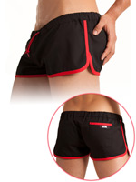Barcode Gym Short Black/Red
