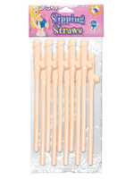 Dicky Sipping Straws (10pc)