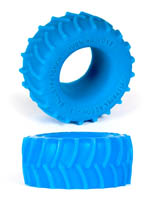 Burning Wheels 100% Silikon Cockring CK02 Blau