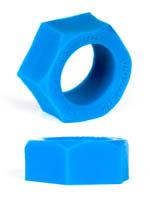 Burning Wheels 100% Silikon Cockring CK06 Blau
