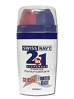 Swiss Navy 2 in 1 Silicone/Waterbase 50 ml