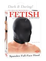 Fetish Fantasy - Spandex Full Face Hood Black