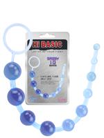 Hi-Basic Sassy Anal Beads - Blau