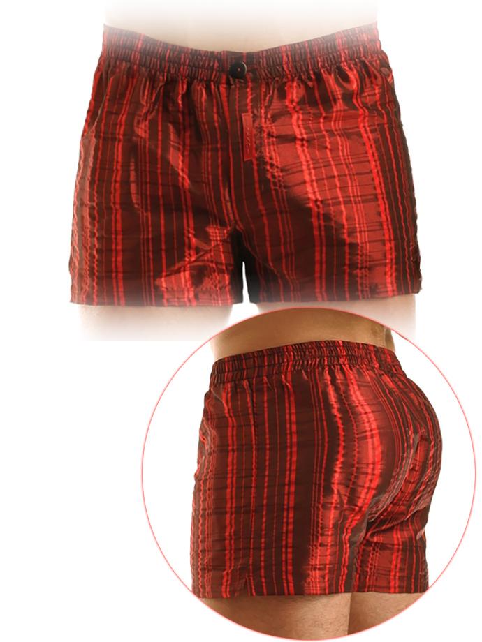 Modus Vivendi - Metallic Loose Fit Boxer - Red