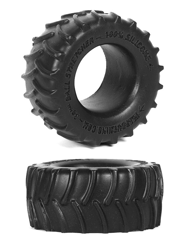 Burning Wheels 100% Silicone Cockring CK02 Black