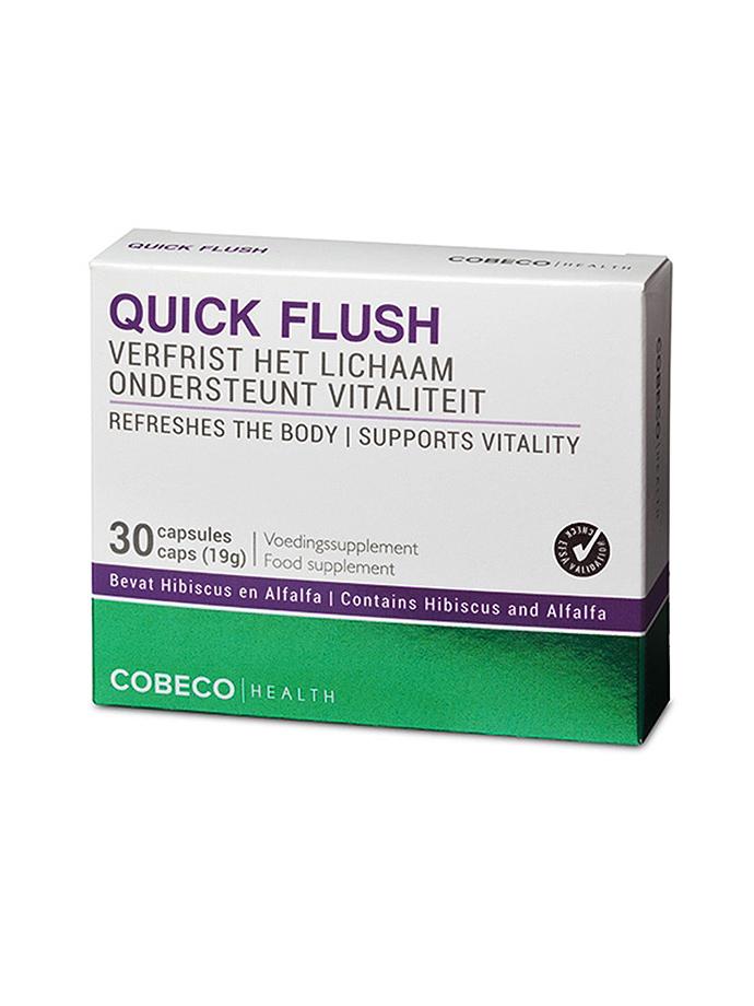 Quick Flush FlatPack - 30 caps