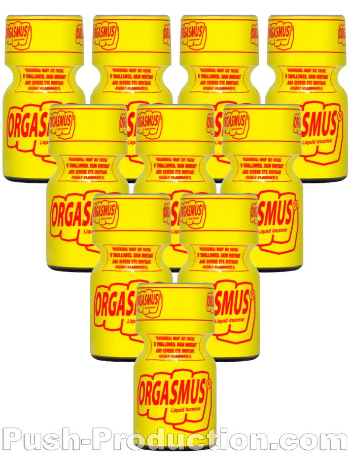 10 x ORGASMUS LIQUID INCENSE - PACK