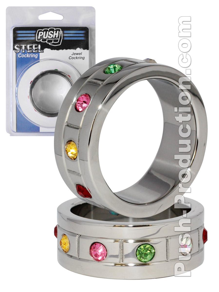 Push Steel - Jewel Cockring