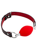 Mundknebel - Red Oval Ball Gag