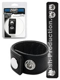 Push Xtreme Leather - Cleveland Snap Strap Ballstretcher Small