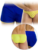 Modus Vivendi - Double Boxer Shorts - Blue-Yellow