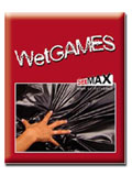 Wet Games Sex-Laken - schwarz 180x220 cm