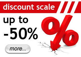 Up to 50% discount!